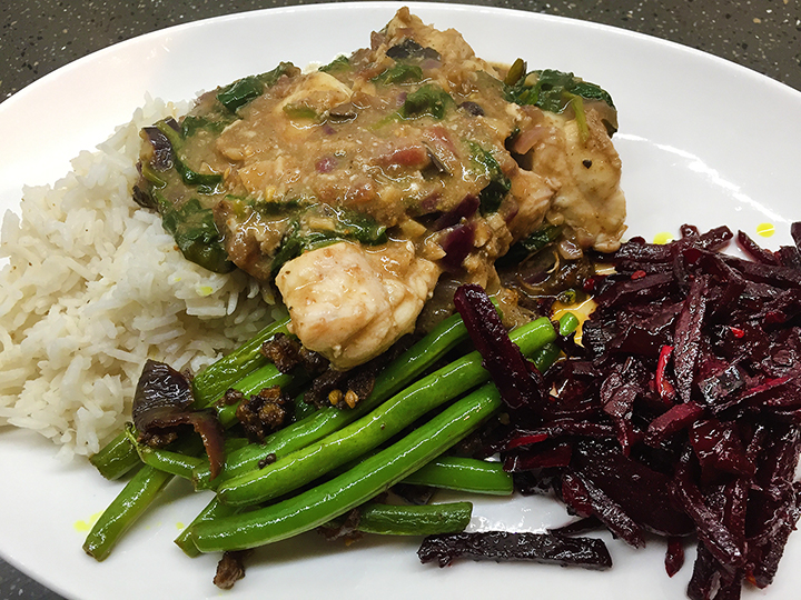 Sri Lankan Monkfish Curry