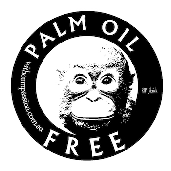Palm oil free label