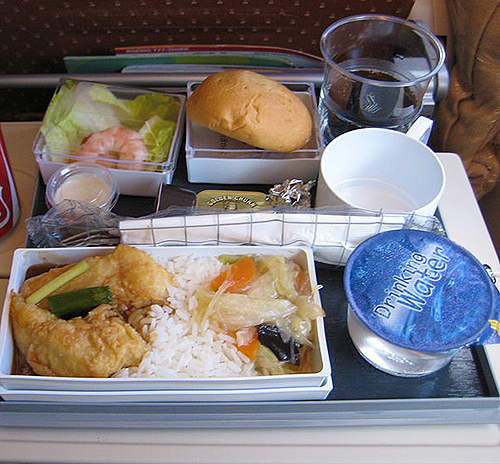 Singapore Airlines meal